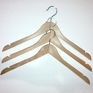 Vintage Storage & Organization - 14 Vintage Wooden Hangers incl. John Thomas Batts